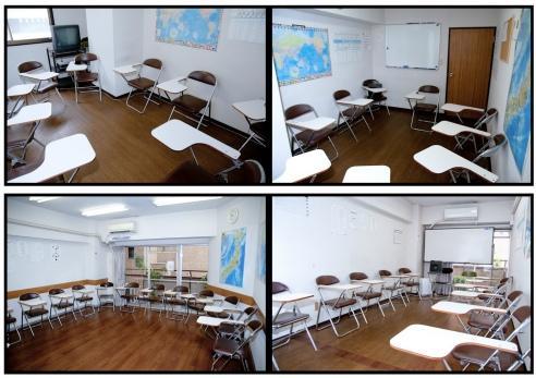 吉祥寺外國語學校-教室1